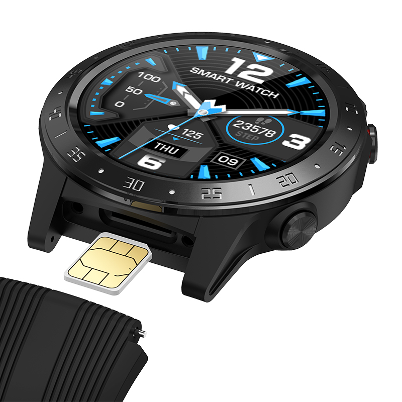 GPS Smartwatch uomo con SIM Card Fitness bussola barometro altitudine M5 Mi Smart Watch uomo donna 2021 per Android Xiaomi 1