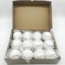 New Squash Products 7cm Handmade Baseballs PVC Upper Rubber Inner Soft Balls Training Baseball Exercise Baseball Softball Balls