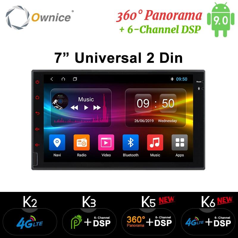 Ownice K1 K2 K3 Octa 8 Core Android 2G RAM 32GB ROM 4G LTE SIM Red GPS Del Coche 2 Din Universal Radio Del Coche Reproductor De Dvd