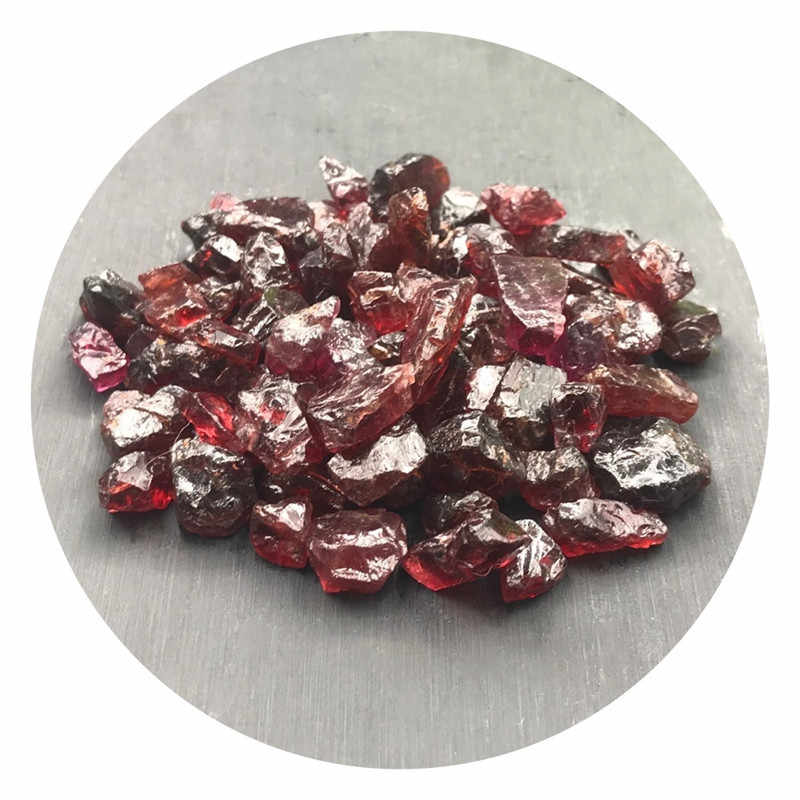 Alam Batu Asli Garnet Kristal Kuarsa Batu Permata Kerikil Reiki Spesimen Penyembuhan Kristal Kuarsa Batu Alam Mineral