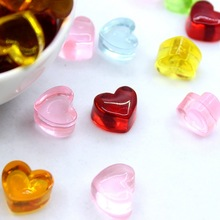 Slime 10Pcs Simulated Love Candy Polymer Box Toy for Children Charms Modeling Clay DIY Kit Accessories Kids Plastic Gift E