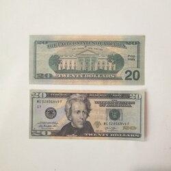 Банкноты из фильма 10 20 50 долларов, банкноты для вечерние, искусственные деньги, Детская Подарочная игрушка, Банкнота 100US