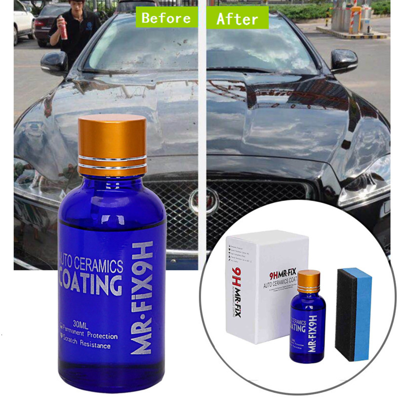 30ML Car Headlight Liquid Repair Agent Ceramic Superhydrophobic Body Coating Polishing Repair Liquid Tool Car Repair Accessories
