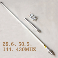 Lusya 29.6mhz/50.5mhz/144mhz/430Mhz Quad band Antenna CR 8900 for TYT TH 9800 Yaesu FT 8900R Car radio