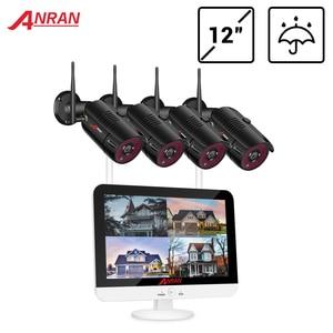 Image 1 - Anran sem fio sistema de cctv 1080p hdd 2mp nvr ip IR CUT ao ar livre cctv câmera sistema de segurança ip kit vigilância vídeo app controle