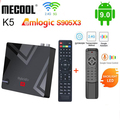 Mecool K5 k7 Amlogic S905X3 Android 9,0 TV Box 4k-цифра спутниковый телевизионный ресивер DVB-S2 DVB-T2 DVB-C, 2 Гб оперативной памяти, 16 Гб встроенной памяти, 2,4G 5G Wi-Fi Bluetooth...