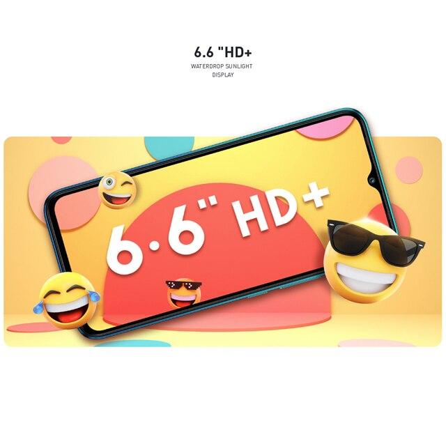 Global Version Infinix Hot 10 Lite 2GB 32GB Mobile Phone 5000mAh Battery 6.6''HD 1600*720P 13MP Camera Helio A20 5