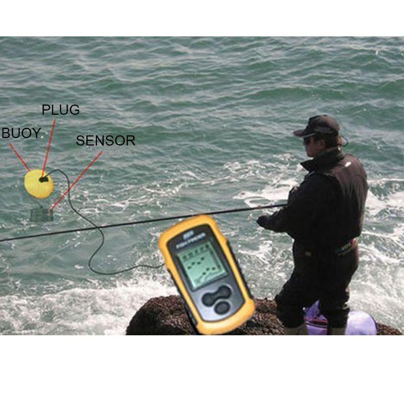 Transdutor Fishfinder Sonar Echo
