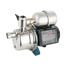 Frequency Conversion Water Pressure Booster Pump For Home Shower Fully Automatic 220V Stainless Steel Silent Self-priming Pump automatic hot and cold water self priming booster pump hanjin copper impeller pump accessories