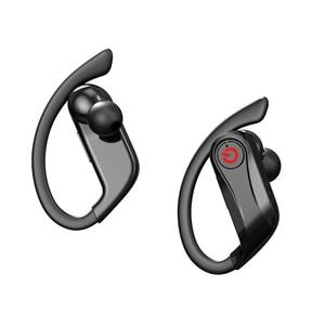 Image 2 - Q62 TWS kablosuz kulaklık Bluetooth 5.0 Stereo Spor Ses kontrolü Su Geçirmez kulak kancası Kulaklık MIc