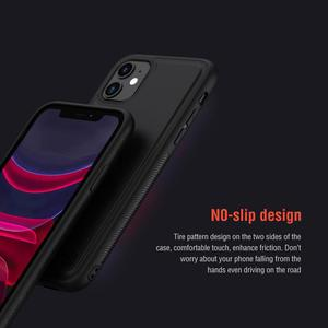 Image 3 - For iPhone 11 pro max Case Cover NILLKIN magic case pro matte hard soft back cover Mobile phone black shell For iPhone 11 pro