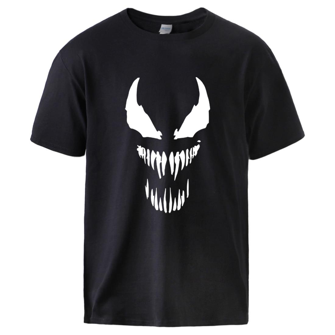 Marvel Superhero Men's T Shirts Summer Cotton Sportswear Casual Tee 2020 Male Hot Sell Short Sleeve Streetwear Crewneck T Shirts
