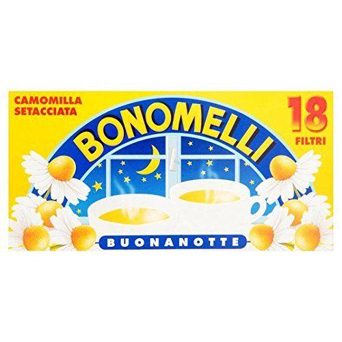 Bonomelli Bonomel Gesiebte Kamille Angereichert Tea 18 Pro Packung