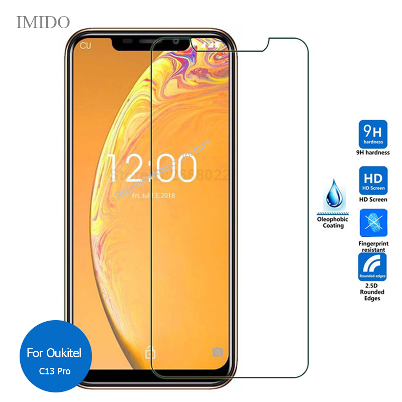 Tempered Glass For Oukitel C16 C17 Pro C15 C13 C12 K12 C5 K9 Screen Protector 9H Protective Film on C17Pro C 5 K 12 16 17 15(China)
