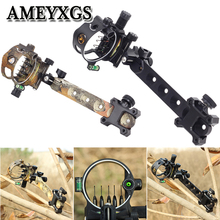 DB9250 Archery Compound Bow Sight 0.019mm 5 Pin Sight Aiming