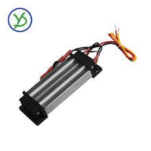 Calentador de la incubadora de 500W, 220V, calentador de aire de cerámica PTC con aislamiento termostático, elemento de calefacción, calentador eléctrico de 140*50mm