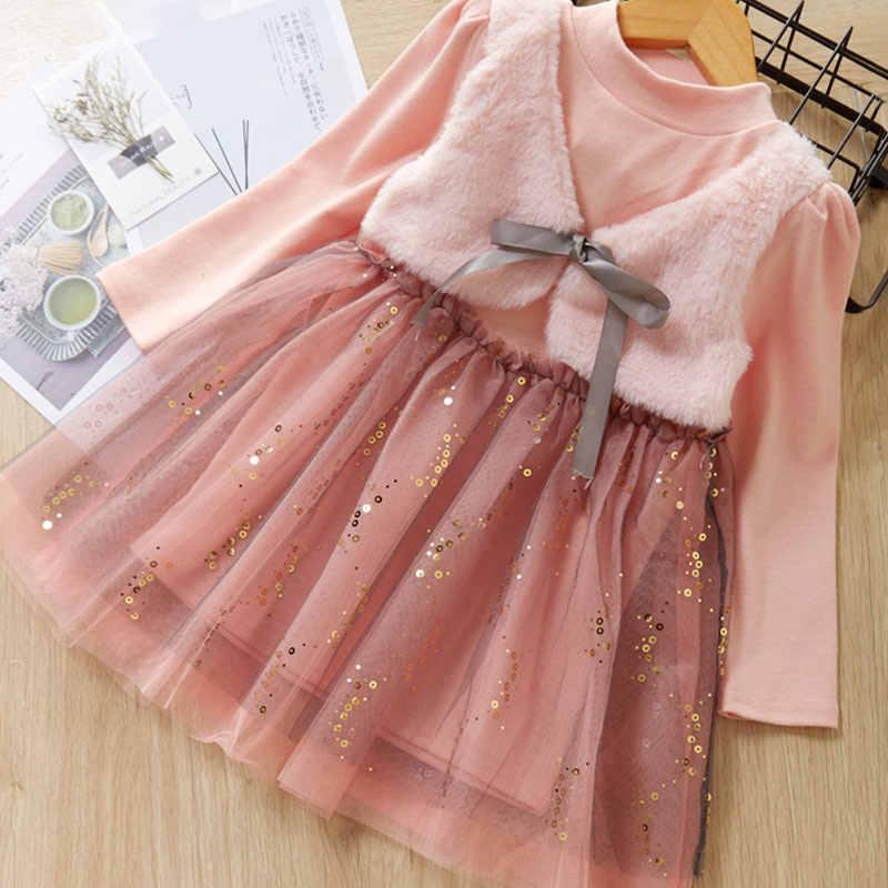 Melario אופנה נמר בנות שמלות אביב עם חגורת ילדים שמלת ילדי בגדי נסיכת שמלה מזדמן ילדים בנות בגדים