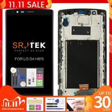 """SIM Đơn Ban Đầu Năm 5.5 """"2560X1440 Màn Hình Cho LG G4 H815 LCD Bộ Số Hóa Cảm Ứng Có Khung dành Cho LG G4 H815 Màn Hình LCD"""
