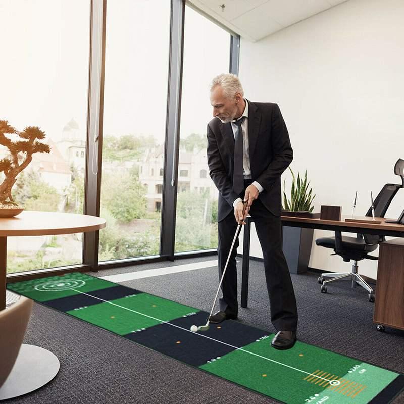Indoor Outdoor Training Golf hitting Carpet 4