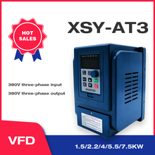 VFD 1.5KW/2.2KW CoolClassic frequency converter XSY AT3 3P 380V output Free Shipping