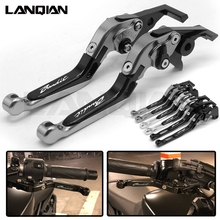 цены For SUZUKI GSF600 Bandit 2000-2004 CNC Motorcycle Adjustable Brake Clutch Levers GSF 600 2001 2002 2003 Bandit Accessories