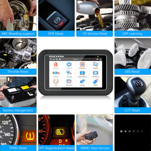 Image 5 - EUCLEIA S7C Full System OBD2 Scanner ABS EPB Airbag DPF Oil Reset ODB2 OBD 2 Code Reader With Portuguese PK MK808 Car Diagnostic