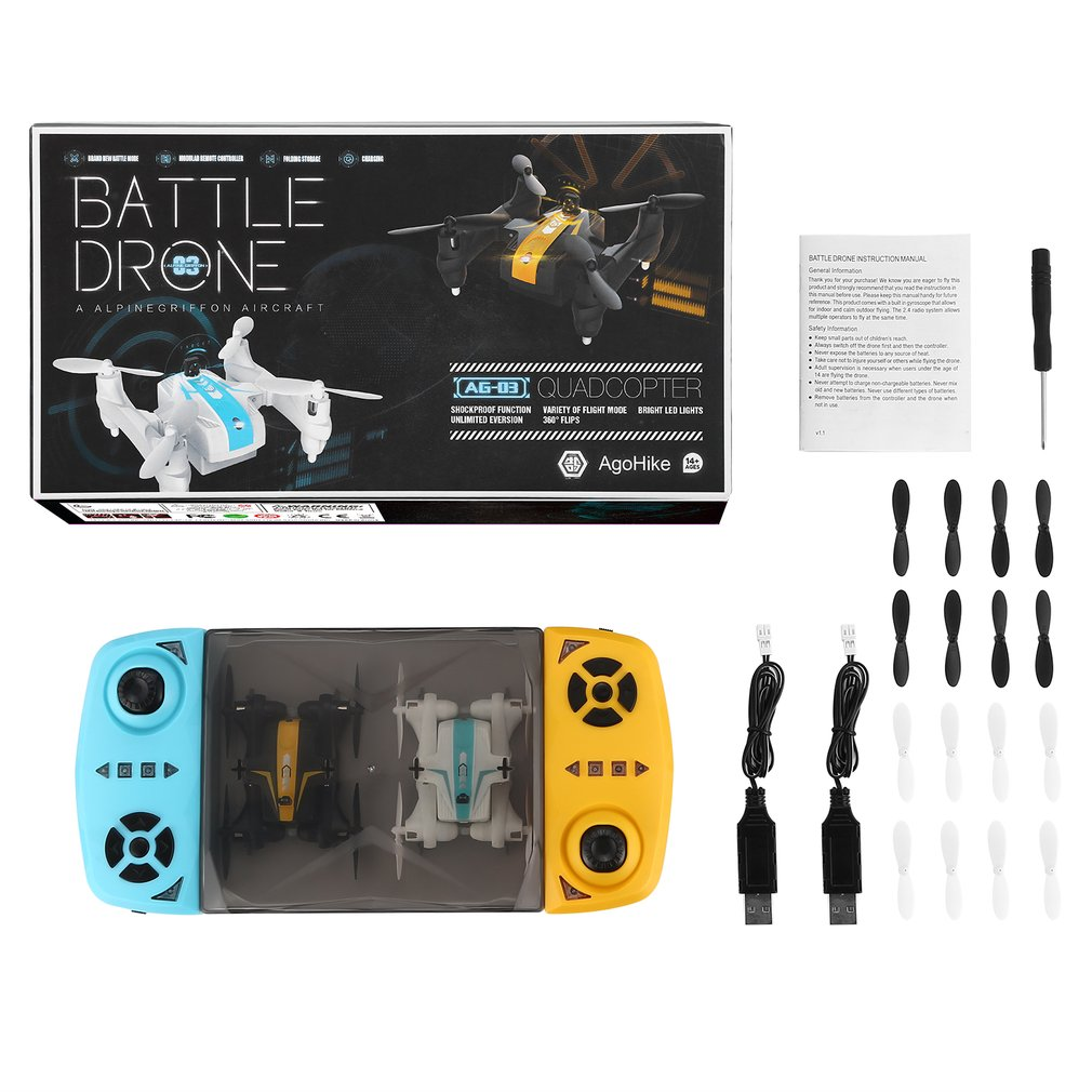 Mini Drone Wars Battle Drones Toy Drone For Beginner & Kids Fighting
