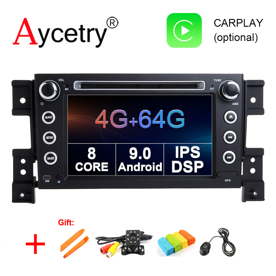 4G 64G 8 core DSP IPS 2 Din Android 9 0 CAR dvd player GPS audio