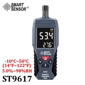 Image 2 - Digitale Temperatuur vochtigheidsmeter Hygrometer Hoge Nauwkeurigheid Thuis Indoor Outdoor Thermometer Gauge Pyrometers Tester  20 60 °C