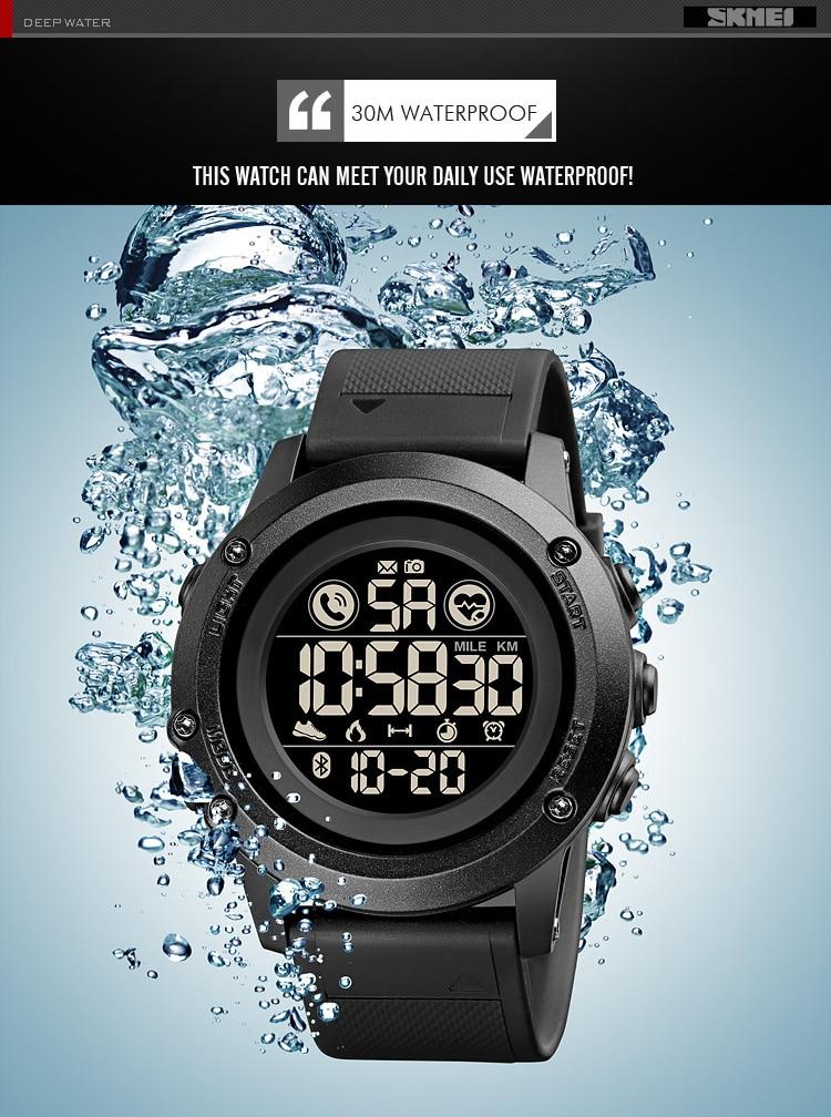 Skmei relógio digital à prova dwaterproof água