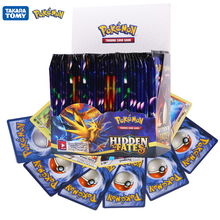 324Pcs Pokemon Cards TCG:Hidden fates Sword&Shield Sun&Moon English Trading Card Game Booster Box Collectible Kid Toys Gift