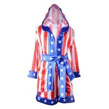 Детский комплект одежды из 3 предметов с изображением боксерского каменистого халата и шорт; итальянский костюм stalion Apollo; Детские костюмы; Одежда для мальчиков