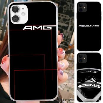 Riccu Mercedes Benz AMG Car Phone Case For iPhone 7 8 Plus X XS Max XR Coque Case For iphone 5s SE 2020 6 6s 11Pro 12 image
