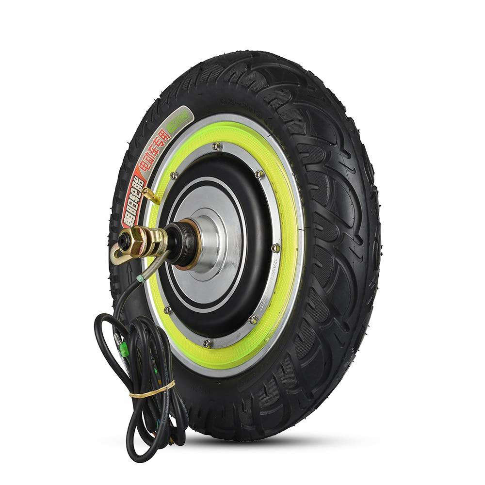 12/'/' 350W Electric Scooter Wheel Motor Hub Motor for Rear Wheel Braking System