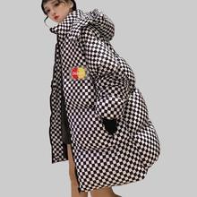 Спортивная зимняя куртка, Женская парка, пальто, пуховик, большой размер, Harajuku, женская теплая подкладка, верхняя одежда, стеганая уличная одежда