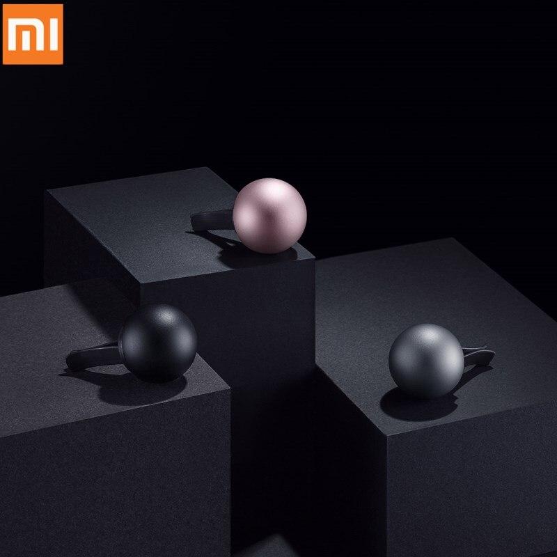 Original Xiaomi Mijia Guildford Magnetic Attraction Car Incense Diffuser Air Freshener Perfume Metal Clamp
