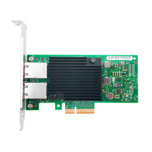 Hot sale X550-T2 10G Dual port RJ45 PCIe3.1 X8 Network Card Intel X550