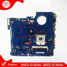 Original For Samsung RV511 NP-RV511 Laptop Motherboard HM55 BA92-07404A BA92-07404B DDR3 main board