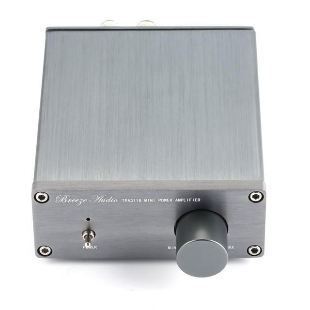 Breeze Amp HIFI Class 2.0 Stereo Audio Digital Amplifier  1