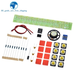 TZT 1set DIY Kit NE555 Component Electronics Electric Piano Organ Module