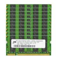 Pcs muito 2 10 GB PC2-6400S DDR2 800MHz 200pin 1.8V SO-DIMM Memória RAM Laptop