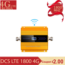 GSM LTE 1800 mhz Mobile Signal Booster 68dB Gain 2g 4g Cell Phone Repeater DCS 1800MHz Amplifier