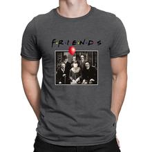 Horror Friends Pennywise Michael Myers Jason Voorhees Men T-Shirt RK