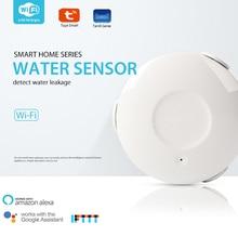 WIFI Water Leakage Alarm Detector Water Sensor Home Security Smart Home with Alexa Echo Google Home