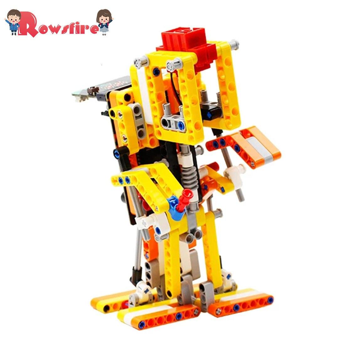 Program Intelligent Walking Robot Kit Steam Programming Education Robot For Micro:Bit(No Or Including Micro:Bit Board)