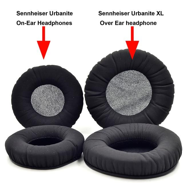 Almofadas de ouvido defean para sennheiser urbanite xl sobre a orelha/urbanite on ear fones de ouvido