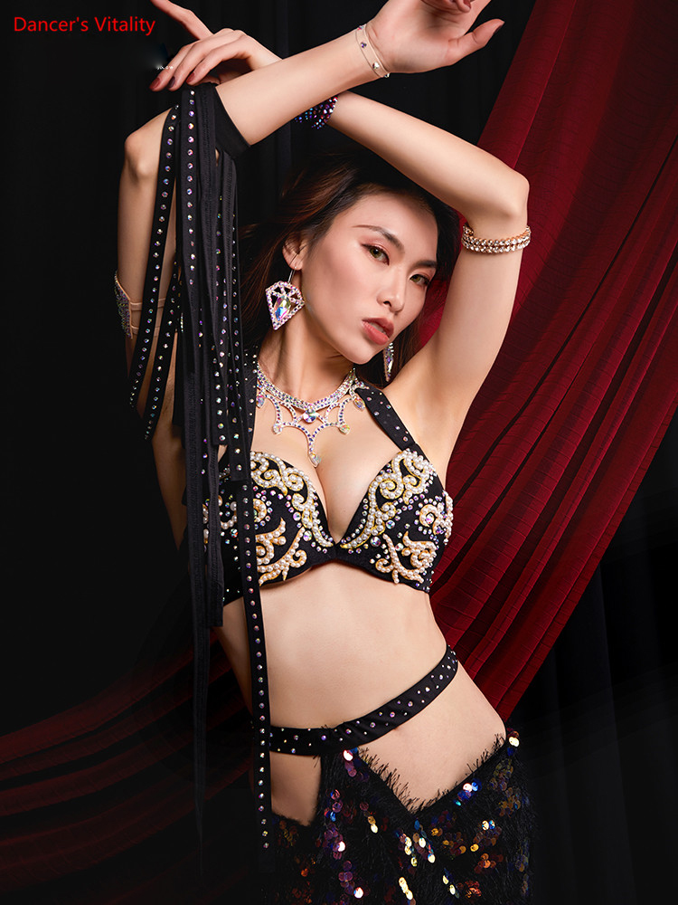 Women Belly Dance Costume Performance Costumes Oriental Indian Dancing Skirts Practice Clothing Handmade Custom Stage Wear