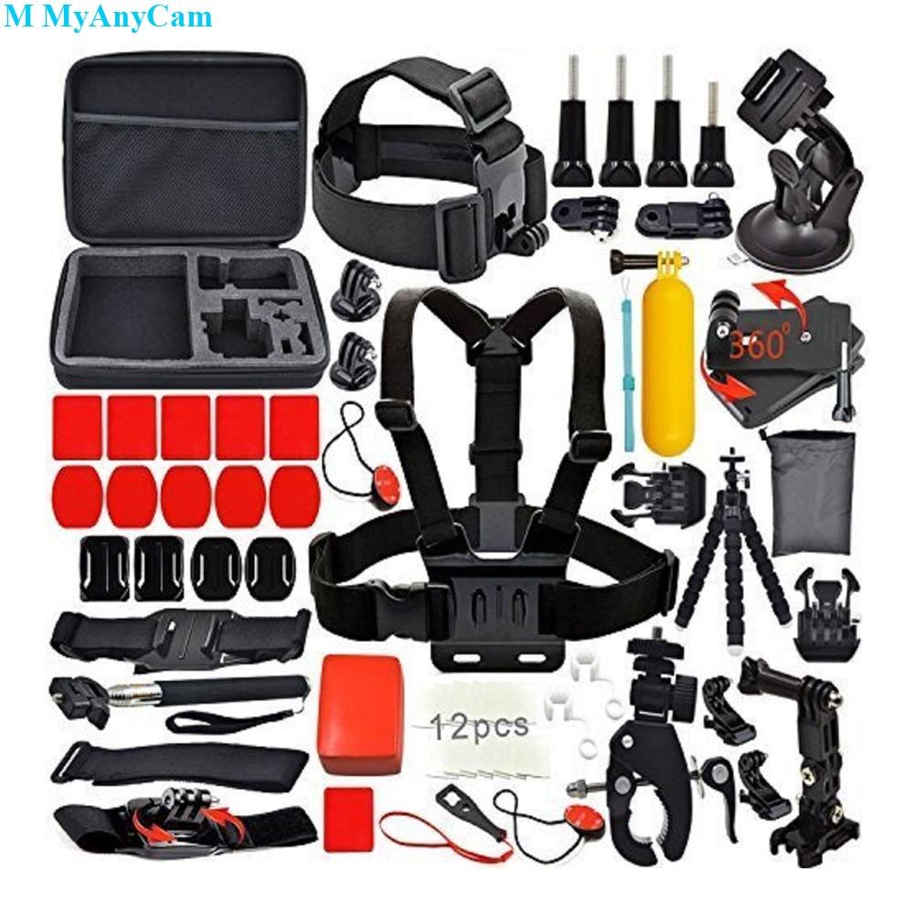 GOPRO ACCESSORIES KIT Hero 7 6 5 4 Outdoor Action Sports Camera Mount Set bundle