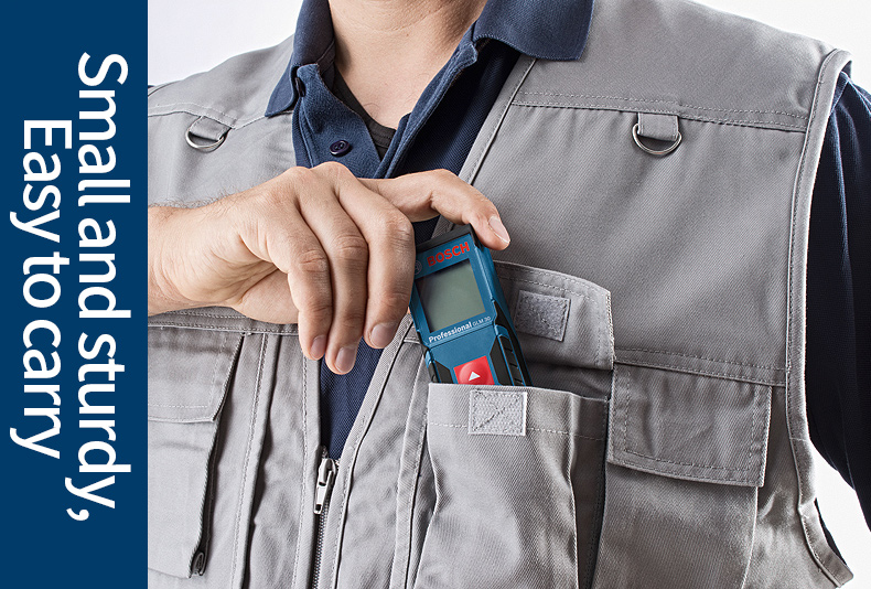 Pocket sized laser tool