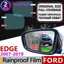 For Ford EDGE 2007~2019 Full Cover Anti Fog Film Rearview Mirror Accessories Endura 2008 2009 2010 2012 2014 2015 2016 207 2018